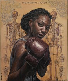 """""""The Skeletal System"""" by Tim Okamura (women fighters, rioters and protesters in…"""