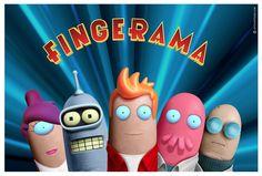 Thumbtastic, vos séries préférées sur le pouce : Futurama