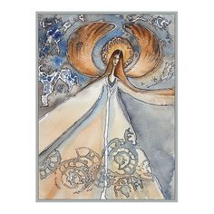 Daria Górkiewicz / Anioł oszroniony Painting, Art, Art Background, Painting Art, Kunst, Paintings, Performing Arts, Painted Canvas, Drawings