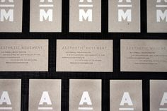Does anyone know the thickness of the stock Aesthetic Movement uses for their business cards? 20pt? 22pt? Thank you