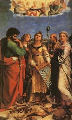 TICMUSart: St. Cecilia - Rafael Sanzio (1516) (I.M.)