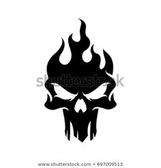 Find Dark Skull Logo Template stock images in HD and millions of other royalty-free stock photos, illustrations and vectors in the Shutterstock collection. Thousands of new, high-quality pictures added every day. Skull Stencil, Tattoo Stencils, Stencil Art, Skull Template, Stencil Templates, Logo Templates, Logo D'art, Art Logo, Skull Tattoo Design