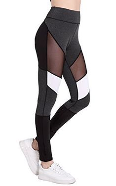 f5938c4d5 Benta High Waist Fitness Yoga Sport Pants Printed Stretch Point Leggings FBA