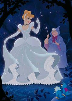 Cinderela e a Fada Madrinha