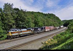 RailPictures.Net Photo: NS 1074 Norfolk Southern EMD SD70ACe at Cassandra, Pennsylvania by Kevin Burkholder