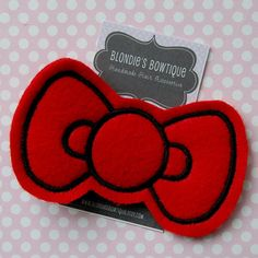Hello Kitty hair clip