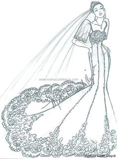 I love how a country's culture can be so fashionable in a designer's eyes. Filipiniana Wedding, Filipiniana Dress, Bridal Wedding Dresses, Dress Illustration, Fashion Illustration Sketches, Filipino Fashion, Style Inspiration, Filipina, Dress Lace
