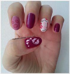 Unghiutze colorate-Happy nails: Alphabet nail art challenge - Letter K