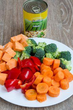 Quinoa cu legume si naut la cuptor - Din secretele bucătăriei chinezești Quinoa, Cantaloupe, Carrots, Vegetables, Food, Essen, Carrot, Vegetable Recipes, Meals