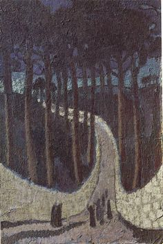 Maurice Denis, Chemin dans les arbres, 1891