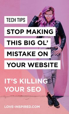 High-end Graphic + Web Design – STOP Making this Big Ol' Mistake on Your Website – It's killing your SEO