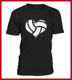 Volleyball Heart TShirt Nice - Volleyball shirts (*Partner-Link)
