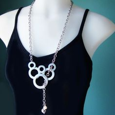 Statement Jewelry Necklace  Hardware Washer by PerfectPairJewelry, $32.00