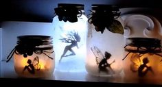 How to Make Mason Jar Fairy Lanterns - Big DIY Ideas