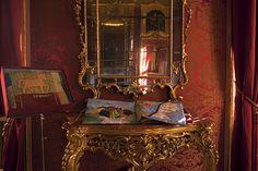 Libro di stoffa ispirato a Leonardo da Vinci a Palazzo Saluzzo Paesana-Torino
