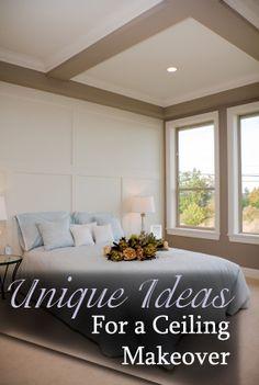 Unique Ideas for a Ceiling Makeover   www.liberatingdivineconsciousness.com