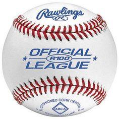 Rawlings Dozen of Any League Baseball, Your Choice, White
