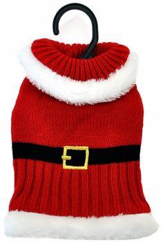 Otis & ClaudeFetching Fashion Holiday Santa Sweater XS-Small Dog Clothes - $7.99
