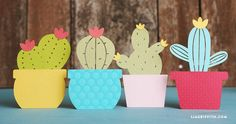 Use our templates to create your own adorable and easy paper cactus garland, which you can use as event decor for a Cinco de Mayo party or birthday fiesta! Dorm Door Decorations, Office Birthday, Cactus Flower, Cactus Cactus, Door Decs, Tissue Paper Flowers, Cactus Decor, Paper Crafts, Diy Crafts