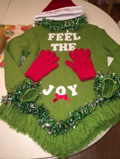 Ugly Christmas sweater ready!!