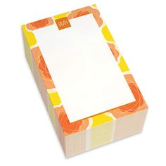 Yellow Pretty Blooms Chunky Notepads