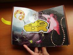 Libro con momentos de respiración en tres dimensiones.