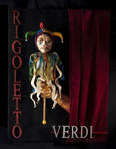 opera posters | Rigoletto: Opera Arts HANDMADE, LIMITED EDITION POSTER