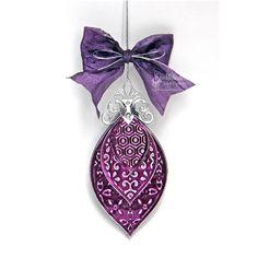 Spellbinders Paper Arts - Idea Gallery - View Project - Foil Ornament