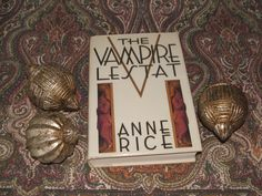 Signed 1985 Hardcover Book The Vampire Lestat by Anne Rice by lookonmytreasures on Etsy