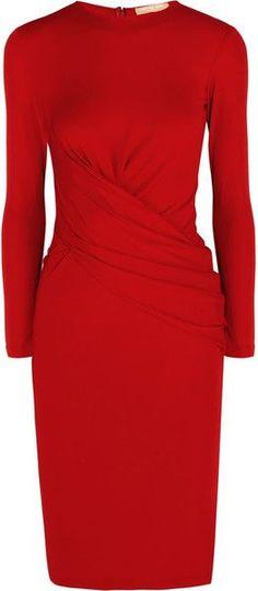 Michael Kors Cocktail dresses for Women Only Fashion, Red Fashion, Fashion Dresses, Womens Fashion, Pretty Dresses, Beautiful Dresses, Dresses For Work, Dress Skirt, Dress Up