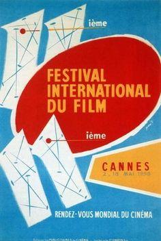 Official Festival de Cannes Poster, 1958