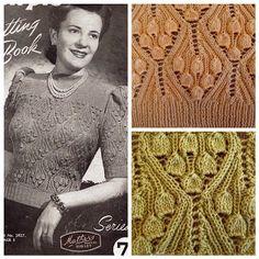 Knitting&Design: Винтажные колокольчики.
