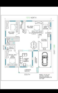 1680 Square Feet Amazing And Beautiful Kerala Home Design 10 Marla House Plan, 2bhk House Plan, Three Bedroom House Plan, Model House Plan, Simple House Plans, House Layout Plans, Duplex House Plans, Best House Plans, Dream House Plans