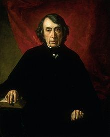 Roger Brooke Taney (March 17, 1777 – October 12, 1864) was the fifth Chief Justice of the United States, holding that office from 1836 until his death in 1864. He was the first Roman Catholic to hold that office or sit on the Supreme Court of the United States. He was also the eleventh United States Attorney General.