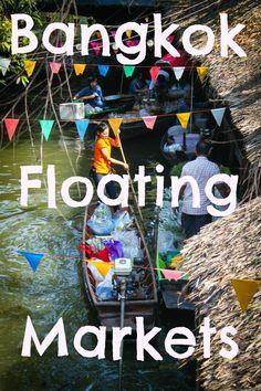 Bangkok's Authentic Floating Market, Klong Lat Mayom: http://www.ytravelblog.com/bangkok-floating-markets-2/