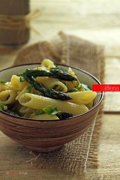 Pasta agli asparagi e Parmigiano Reggiano