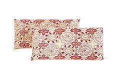 Indian Batik Lumbar Pillows, Pair on OneKingsLane.com