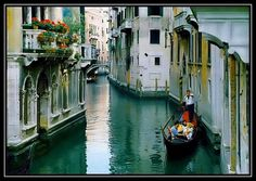 Venice,  I pretty much want to visit all of Europe..well not the places in Hostel... those movies we're creepy!