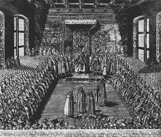 Engraving by Tomasz Makowski after lost painting by Tommaso Dolabella of Tsar Vasily-Vasili IV Ivanovich-Ioannovich Shuyskiy-Shuisky (1552-1612) with his brothers at the parliament of Poland of Warsaw. In 1610 he was deposed by his former supporters, was made a monk & transported with his 2 brothers to Warsaw Ivan & Dmitry by Polish Stanisław Żółkiewski. He died a prisoner in the castle of Gostynin near Warsaw in 1612, followed by his brother Dmitry.