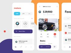 Car Marketplace App Redesign designed by Cuberto. Connect with them on Dribbble; the global community for designers and creative professionals. Web Design, Design Home App, Mobile Ui Design, App Ui Design, Bmw 635 Csi, Car App, App Home, Bmw 6 Series, Branding