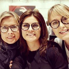 Trio à la Céline #celine #eyeweartrends #fashion #glasögon #glasses #klarsyntmässa #stockholm #cityoptik #nyhet