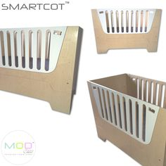 SmartCot ticks all the right boxes and has all the features a modern mom needs. A Crib, a Toddler Bed, a Daybed or Seater, a play Table and best of all, no need for any conversion kit. By simply breaking apart what starts as a cot, reinvents itself into a variety of furniture items.  Paired with our compactum, SmartCot truly is the perfect start for any nursery while creating a stunning environment for your new born and will serve them well into their kid years.