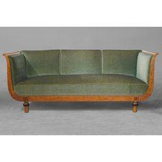 Axel Einar Hjorth sofa.  Designed by Axel Einar Hjorth for Georg Ryman of Stockholm's City Craftwork Association, 1926.
