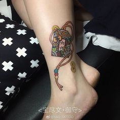 """15 mentions J'aime, 1 commentaires - +yao (@yao.tattoo) sur Instagram : """"#guangzhou #guangzhoutattoo #omamori #御守り #宝尽くし #japanesetattoo #amulet"""""""