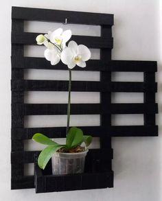 floreira vertical de madeira - jardim vertical