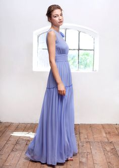 Cut from lightweight, fluid silk, this floaty dress is a romantic solution to summer event dressing. Its high waistband and loose skirt create a flattering silhouette, charmingly finished with a feminine bow at the shoulder. Floaty Dress, Summer Events, Bridesmaid Dresses, Wedding Dresses, Blue Dresses, Dressing, Feminine, Bow, Romantic