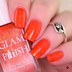Glam Polish Say Cheese and Die! Just like the goosebumps book title lol