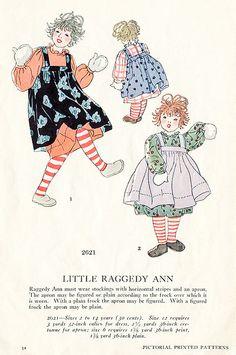 Little Raggedy Ann.