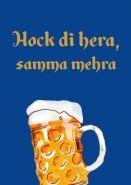 Postkarte: Hock di hera, samma mehra Bavaria, Smiley, Lol, Humor, Mugs, Funny, Quotes, Inspiration, Funny Sayings