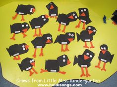 Fall Bulletin Boards to Crow About! | Heidi Songs